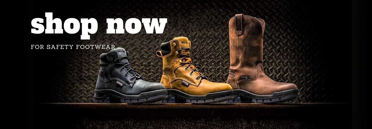 Shop Now For Safety Footwear