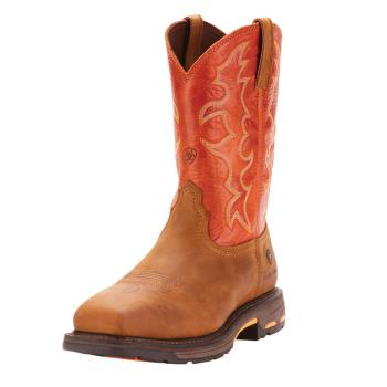 Ariat 10006961 EH Steel Toe Square Toe Wellington