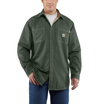 Carhartt 100432MOS Flame Resistant Canvas Shirt Jac