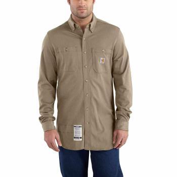 Carhartt 101698 Long Sleeve FR Cotton Hybrid Shirt