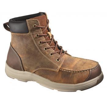 "Hytest 13021 Steel Toe Moc Toe 6"" Boot"