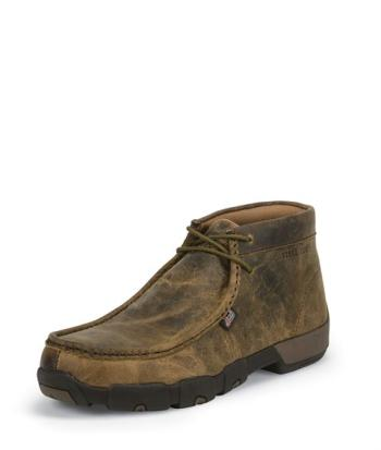 Justin 235 Cappie Steel Toe Drivers Moc