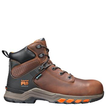 """Timberland Pro A1Q54214 Hypercharge Waterproof Composite Toe 6"""" Work Boot"""