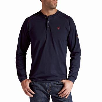Ariat 10013518 Flame Resistant Long Sleeve Work Henley