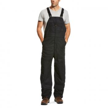 Ariat 10023457 Black Insulated FR Bib Overall