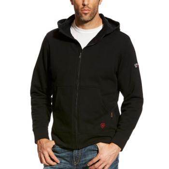 Ariat 10023974 Flame Resistant Full Zip Hooded Sweatshirt - Black