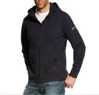Ariat 10023979 Flame Resistant Full Zip Hooded Sweatshirt - Navy