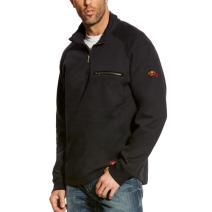 Ariat 10023985 Flame Resistant 1/4 Zip Sweatshirt - Black
