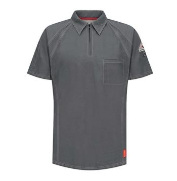 Bulwark QT10CH IQ Series Flame Resistant Short Sleeve Polo
