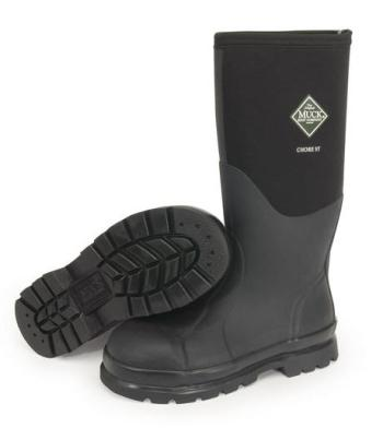 Muck CHS-000A Chore Hi Steel Toe Waterproof Boot