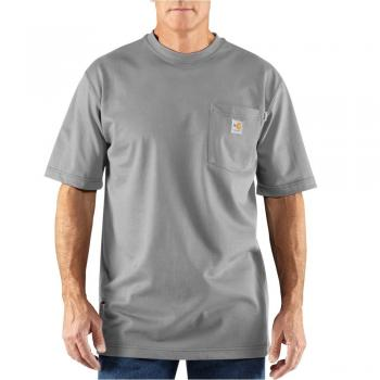 Carhartt 100234LGY Flame Resistant Force® Short Sleeve Shirt