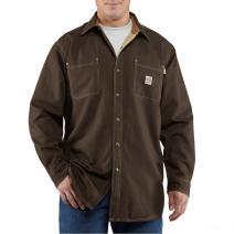Carhartt 100432DKB Flame Resistant Canvas Shirt Jac
