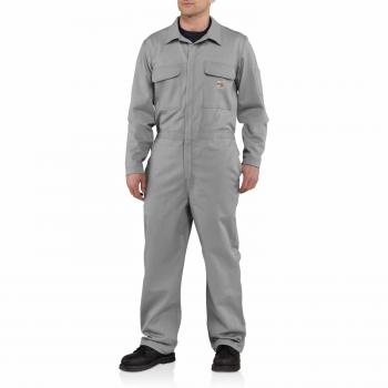 Carhartt 101017GRY Flame Resistant Traditional Twill Coverall