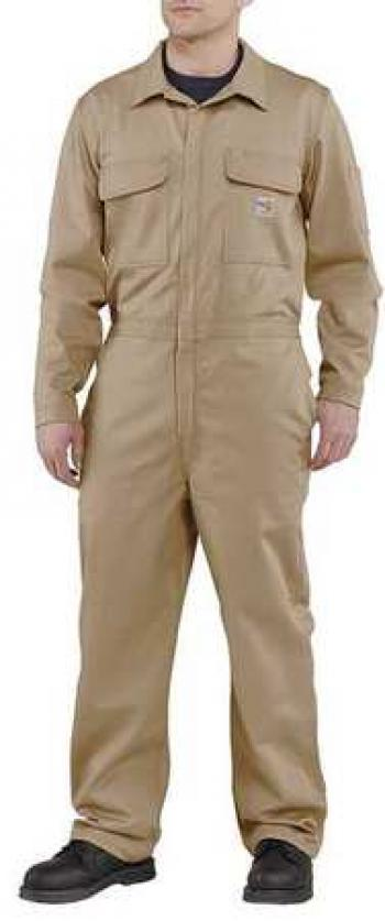 Carhartt 101017KHI Flame Resistant Traditional Twill Coverall