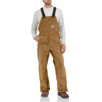 Carhartt 101627 Flame Resistant Unlined Duck Bib Overall
