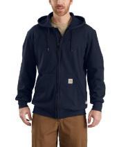 Carhartt 102908 Flame Resistant Rain Defender Zip-Front Heavyweight Hooded Sweatshirt