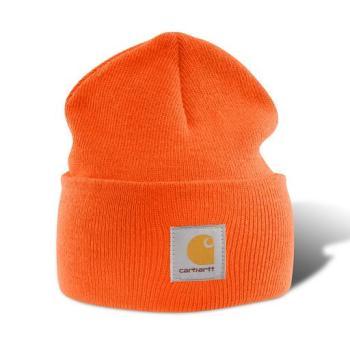 Carhartt A18BOG Blaze Orange Acrylic Watch Hat