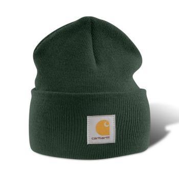 Carhartt A18DGR Dark Green Acrylic Watch Hat