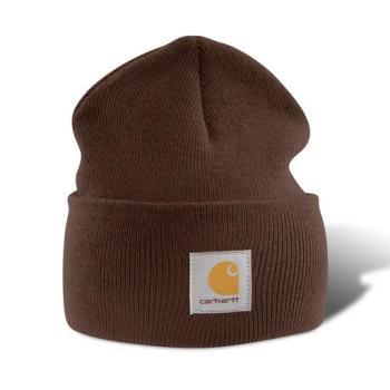 Carhartt A18DKB Dark Brown Acrylic Watch Hat