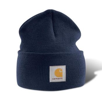 Carhartt A18NVY Navy Acrylic Watch Hat