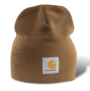 Carhartt A205BRN Brown Acrylic Knit Beanie