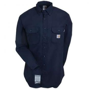 Carhartt FRS160DNY Flame Resistant Twill Button Shirt