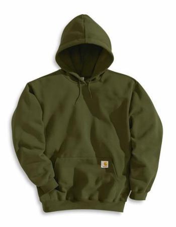 Carhartt K121OLV Midweight Hooded Pullover Sweatshirt