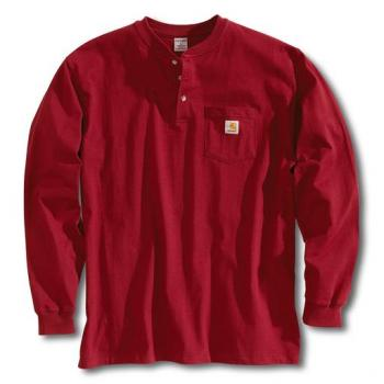 Carhartt K128INR Long Sleeve Workwear Henley