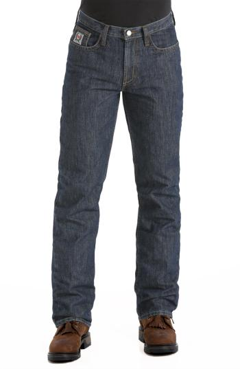 Cinch WP78834002 Flame Resistant White Label Denim Work Jean