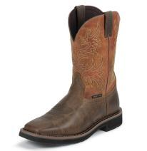 Justin WK4812 Composite Toe Square Toe Work Boot