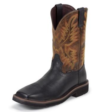 Justin WK4818 Composite Toe Square Toe Work Boot