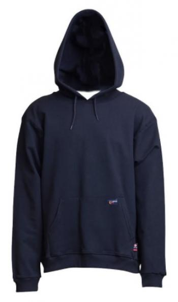 Lapco SWHFR14NY Flame Resistant Hooded Sweatshirt