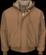 Bulwark FR JLH6BD Hooded Heavy Weight Coat