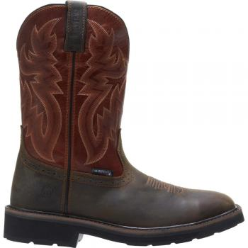 Wolverine W10764 Rancher Waterproof Square Toe Steel Toe Wellington