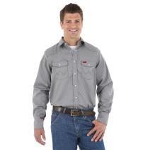 Wrangler FR127CH Flame Resistant Snap-Front Work Shirt