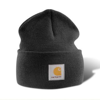 Carhartt A18BLK Black Acrylic Watch Hat