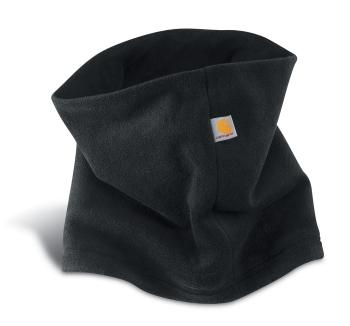 Carhartt A204BLK Black Fleece Neck Gaiter