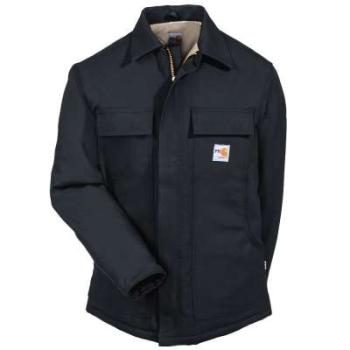 Carhartt 101618BLK Flame Resistant Quilt Lined Traditional Duck Coat