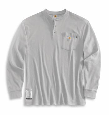 Carhartt 100237-051 FR Long-Sleeve Henley